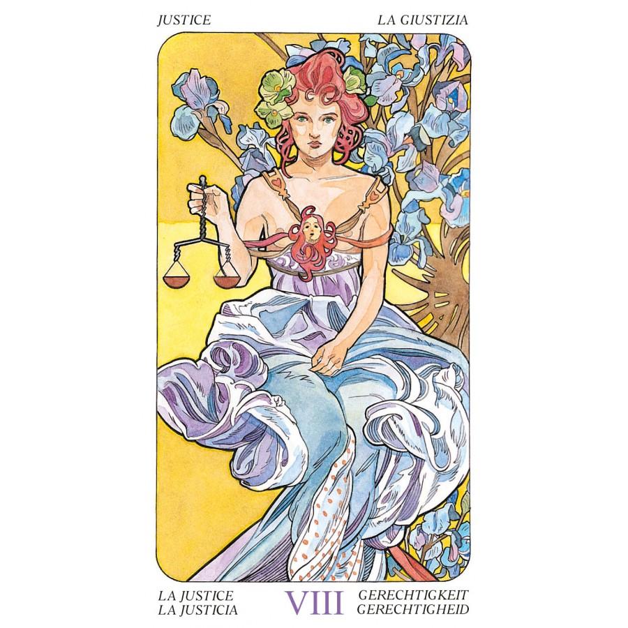 Tarot Art Nouveau 7