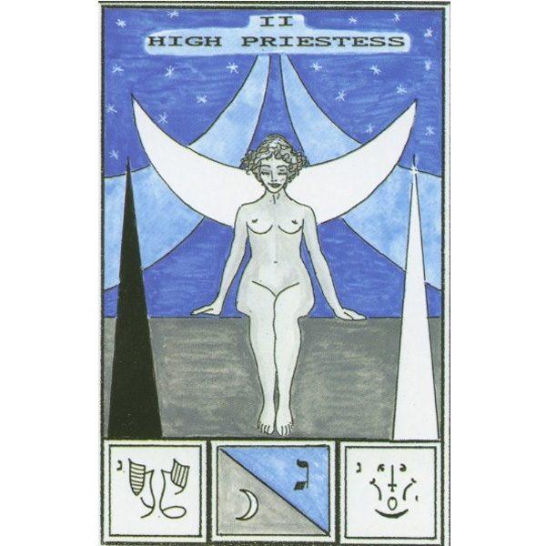 Tarot of Ceremonial Magick Babalon 1