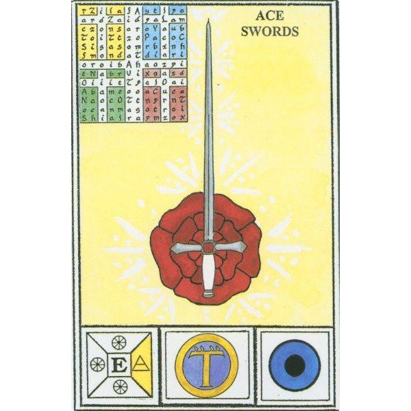 Tarot of Ceremonial Magick Babalon 6