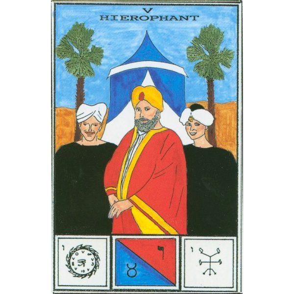 Tarot of Ceremonial Magick Babalon 7