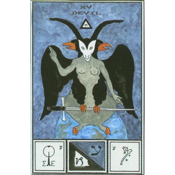 Tarot of Ceremonial Magick Babalon 9