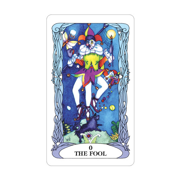 Tarot of a Moon Garden 1