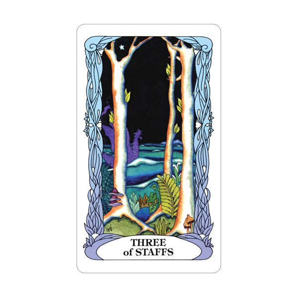 Tarot of a Moon Garden 4