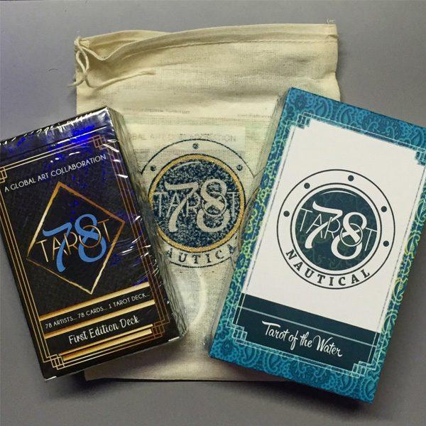 78 Tarot Nautical – Tarot of the Water 1