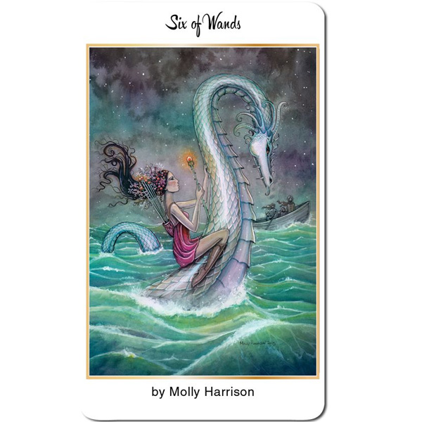 78 Tarot Nautical – Tarot of the Water 11