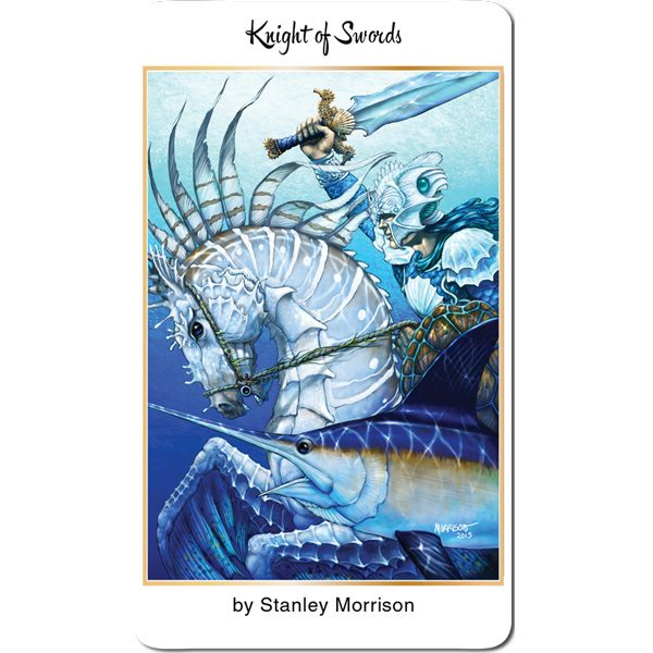78 Tarot Nautical – Tarot of the Water 17