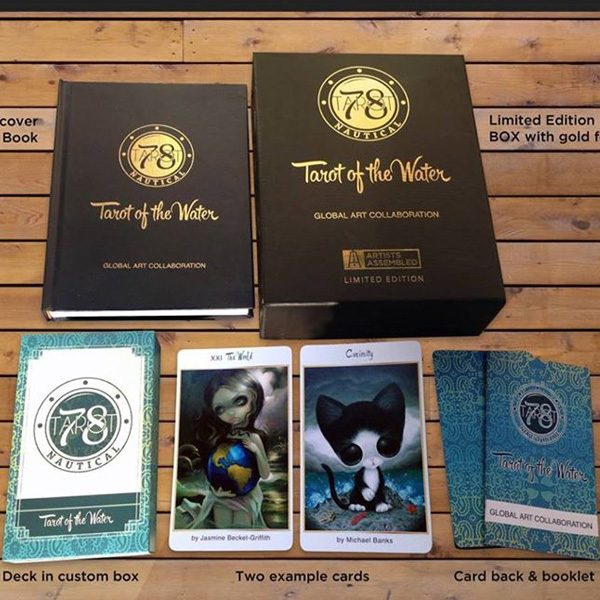 78 Tarot Nautical – Tarot of the Water 2