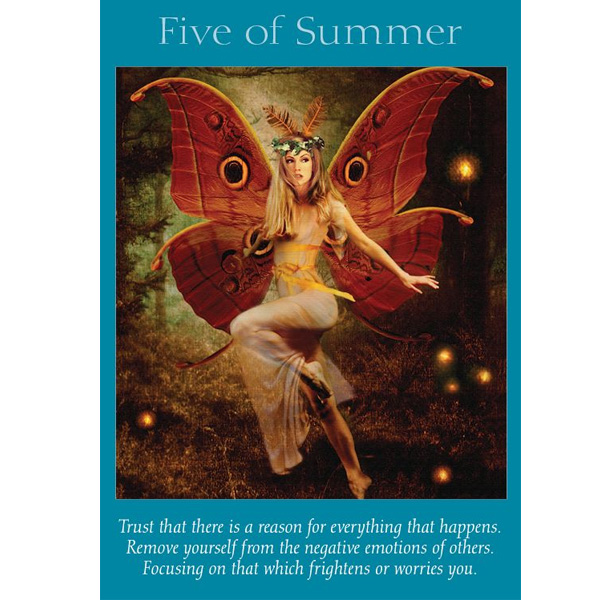 Fairy Tarot Cards 2