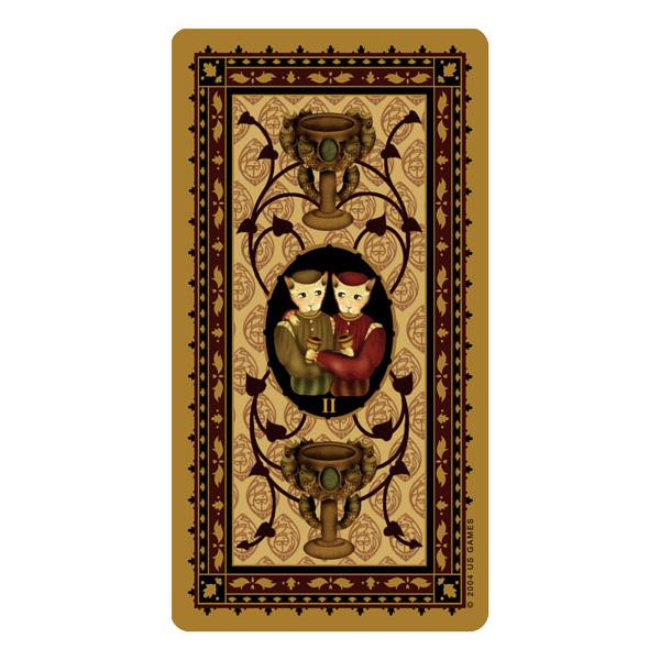 Medieval Cat Tarot 3