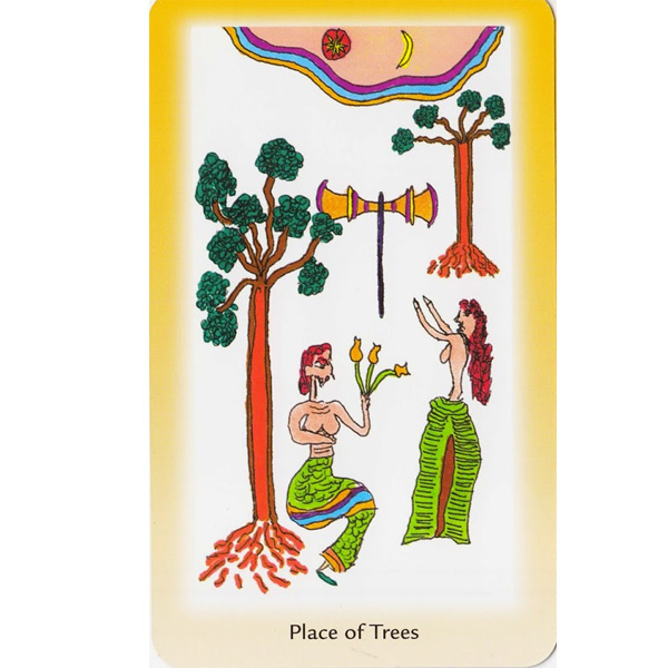 Shining Tribe Tarot 4