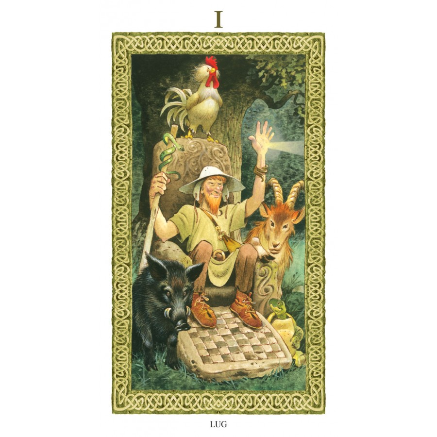 Tarot of Druids 5