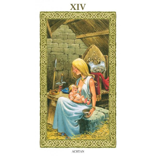Tarot of Druids 9