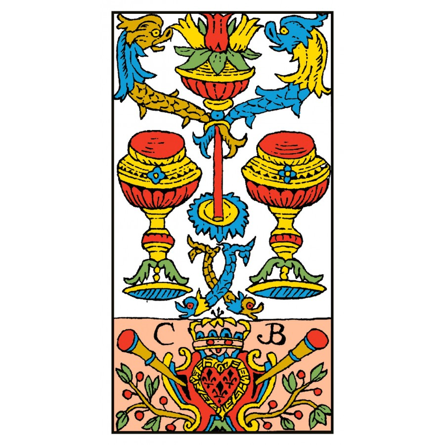 Tarot of Marseille 8