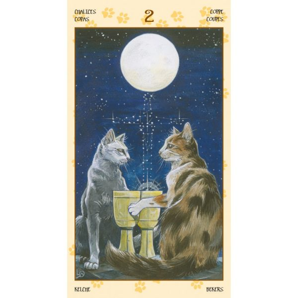 Tarot of Pagan Cats 1