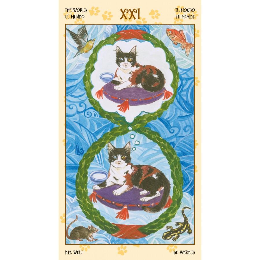 Tarot of Pagan Cats 11