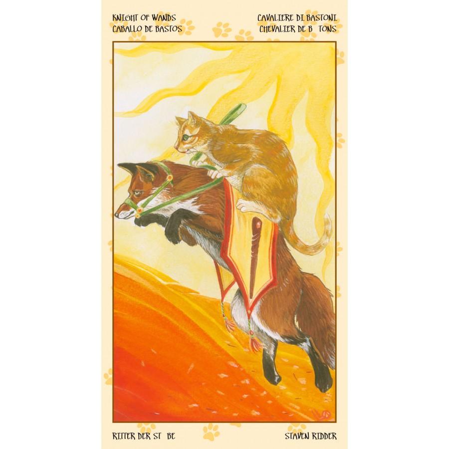 Tarot of Pagan Cats 3