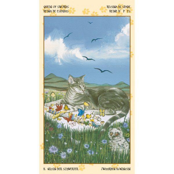 Tarot of Pagan Cats 4