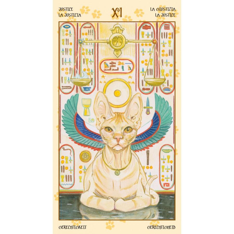 Tarot of Pagan Cats 8