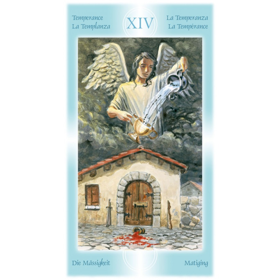 Tarot of the Angels 9