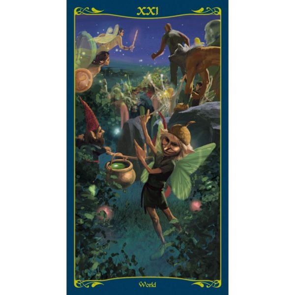 Tarot of the Celtic Fairies 11