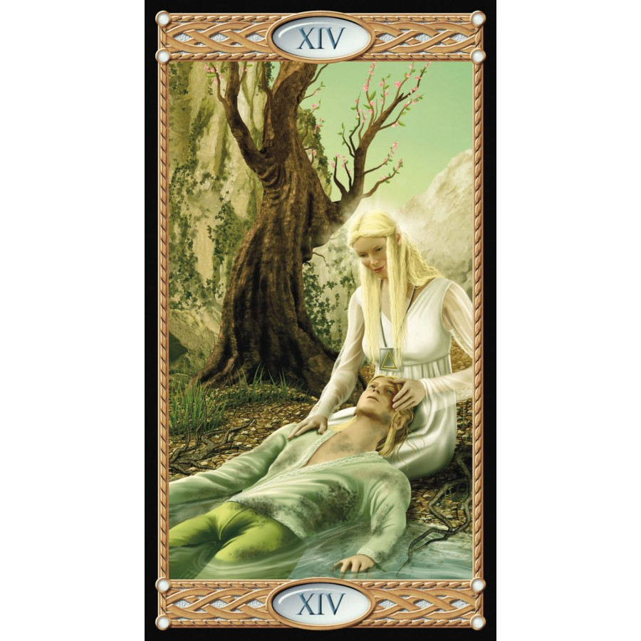 Tarot of the Elves 9