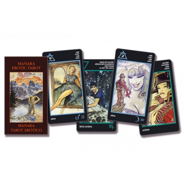 Manara Erotic Tarot – Pocket Edition 1
