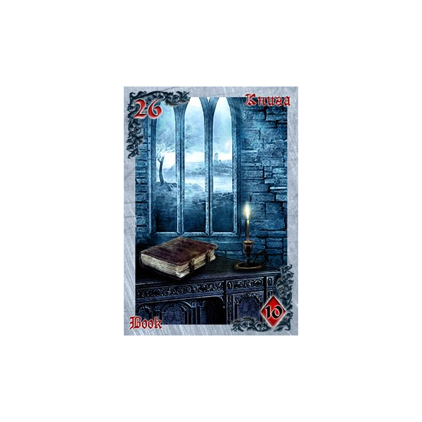 Mysteries of the Old Castle Gothic Lenormand 4