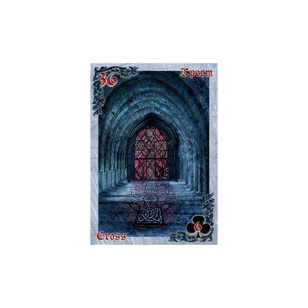 Mysteries of the Old Castle Gothic Lenormand 6