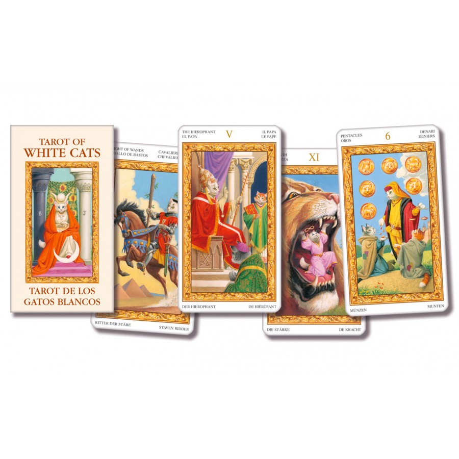 Tarot of White Cats – Pocket Edition 1