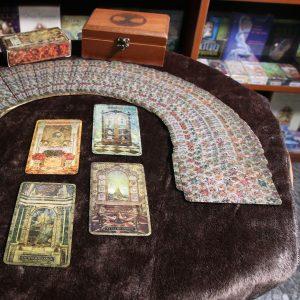 Khăn Trải Bài Tarot Wooden Brown (Nâu) 5