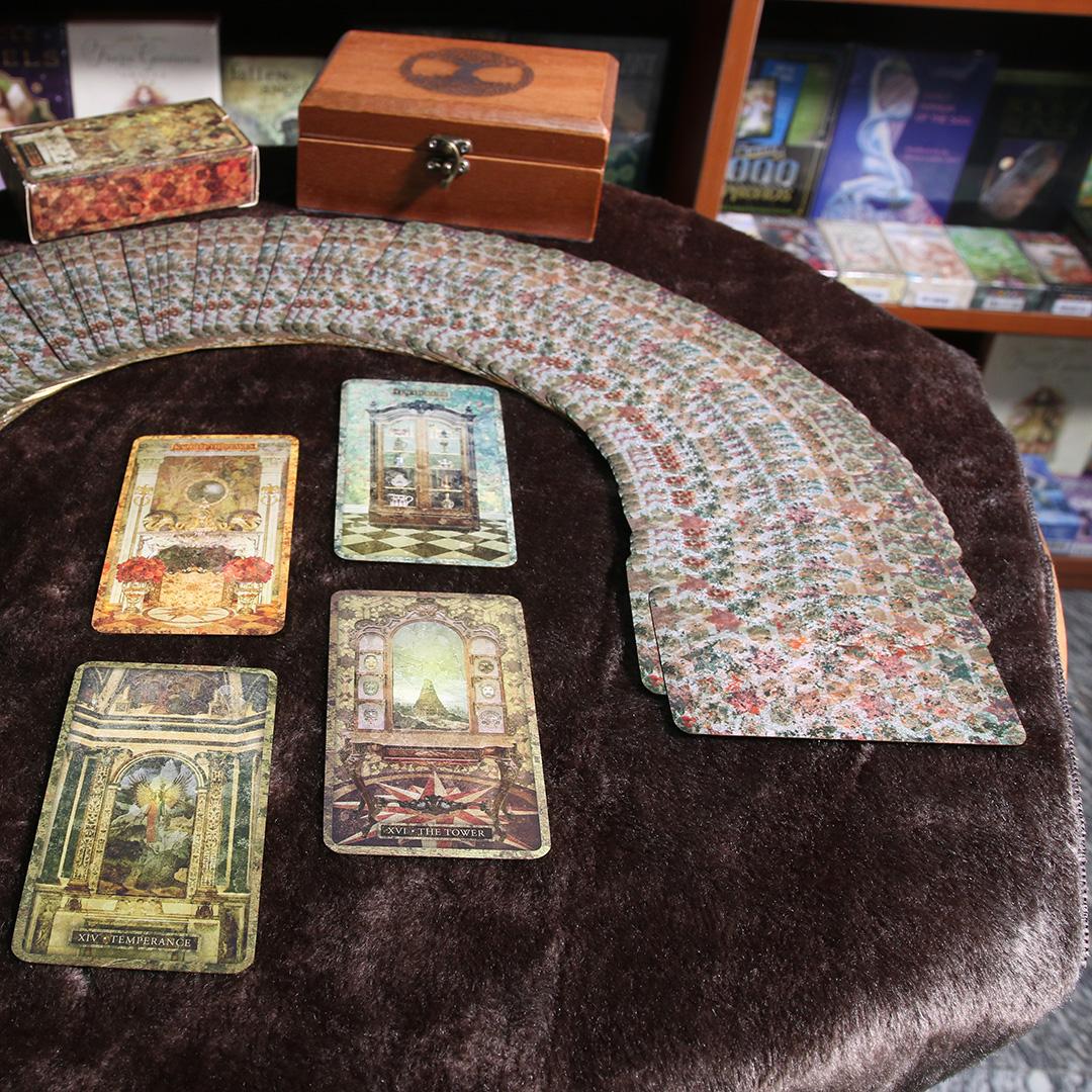 Khăn Trải Bài Tarot Wooden Brown (Nâu) 4