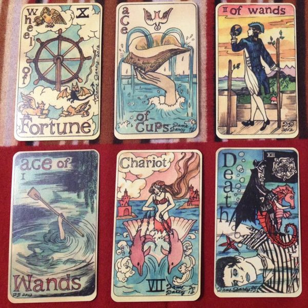 Dame Darcy Mermaid Tarot 4