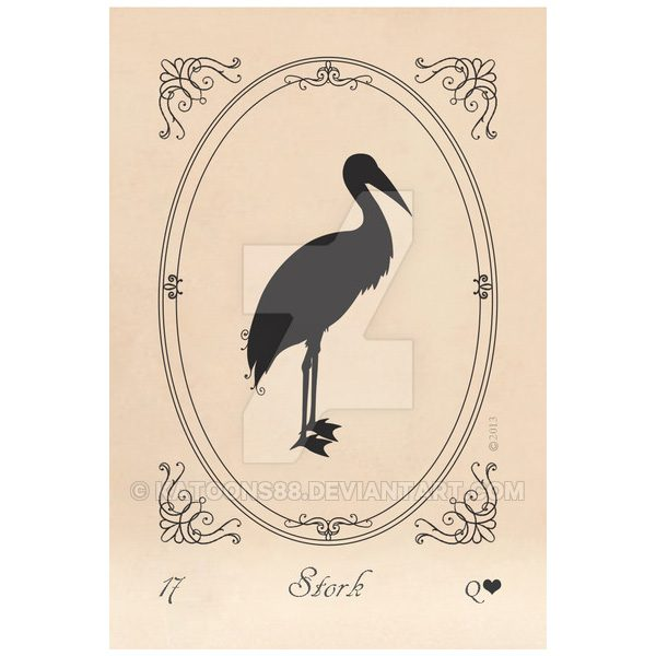 Lenormand Silhouettes 3
