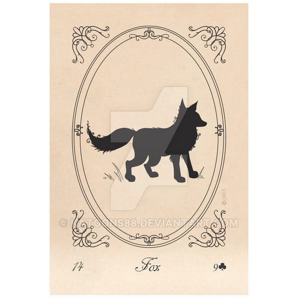 Lenormand Silhouettes 7