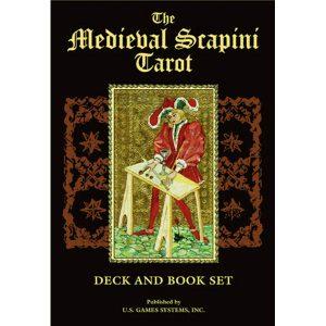Medieval Scapini Tarot - Bookset Edition 50