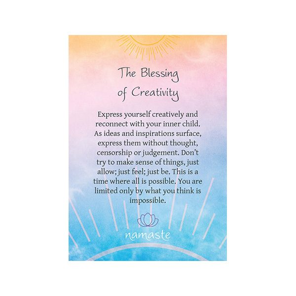 Namaste – Blessing & Divination Cards 4