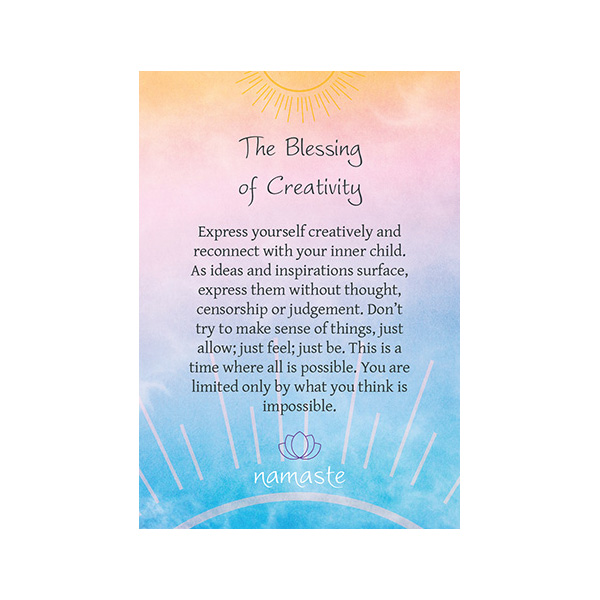 Namaste – Blessing & Divination Cards 4
