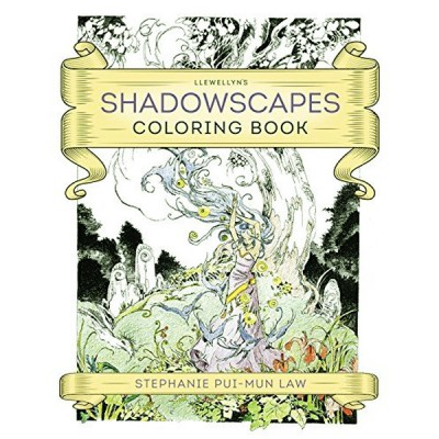 Shadowscapes Coloring Book 9