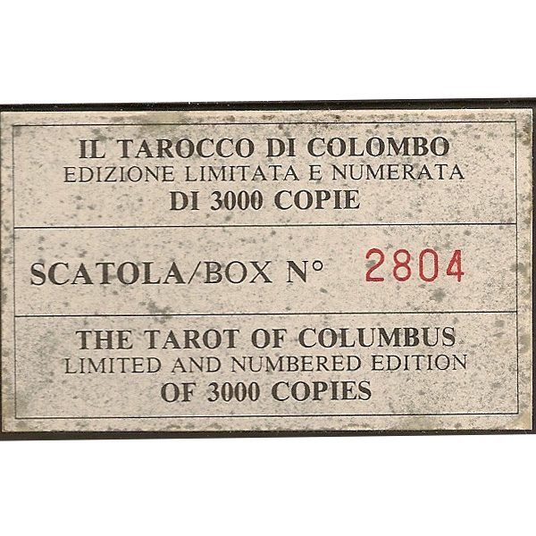 Tarot of Columbus (Il Tarocco di Colombo) 1