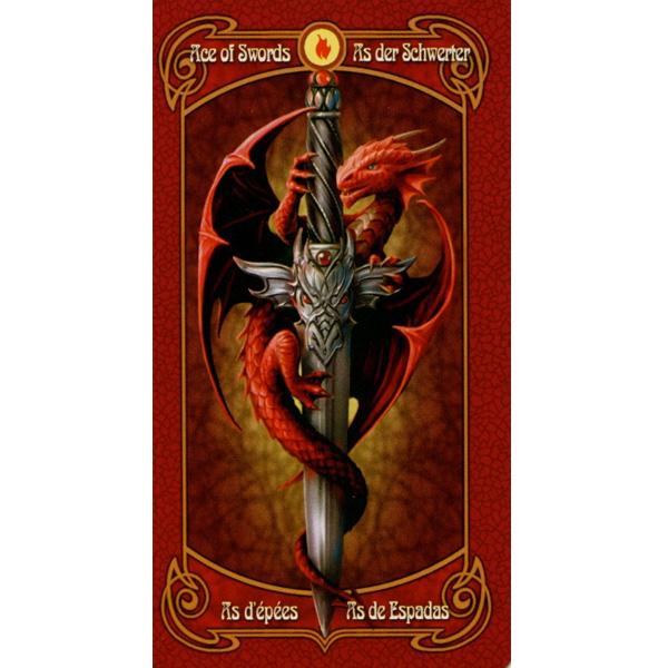 Anne Stokes Legends Tarot 14