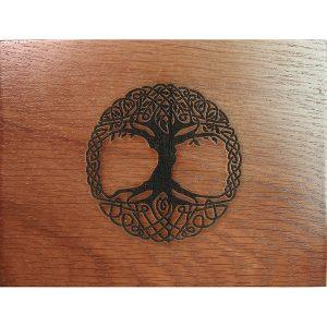 Hộp Gỗ Tree of Life Đựng Bài Tarot 13