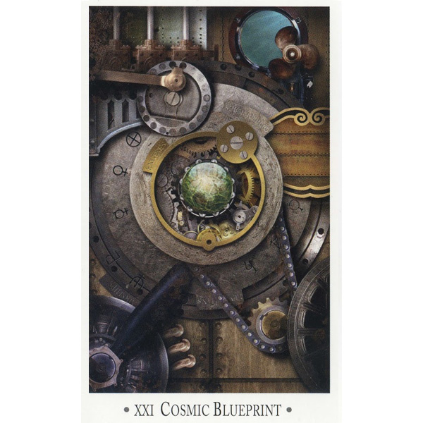 Steampunk Tarot – Wisdom from the Gods of the Machine 3