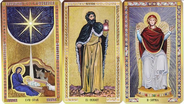 Cảm nhận bộ bài Byzantine Tarot