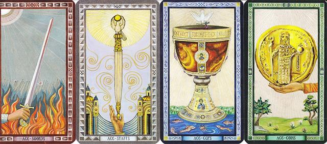 Cách sử dụng bài Byzantine Tarot