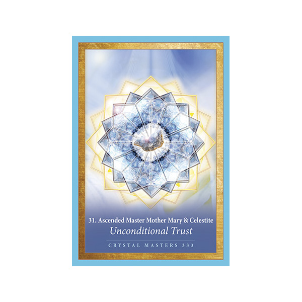 Crystal Mandala Oracle 4