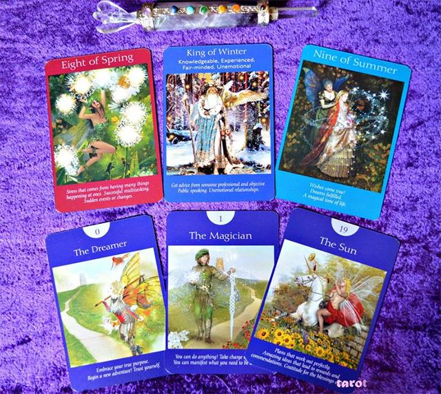 Cảm nhận bộ bài Fairy Tarot Cards