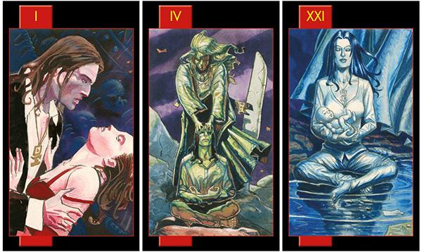 Shop bán bài Gothic Tarot of Vampires