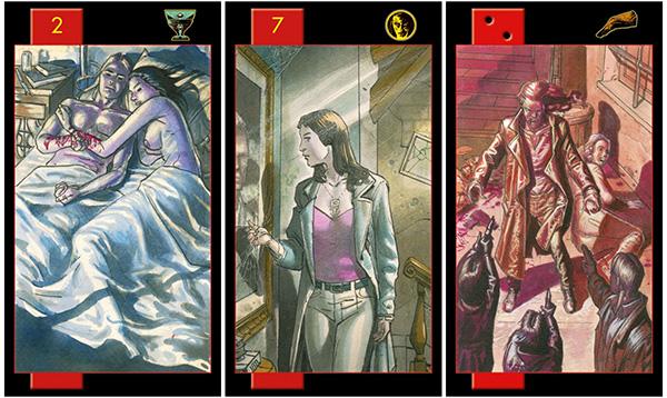 Cảm nhận bộ bài Gothic Tarot of Vampires