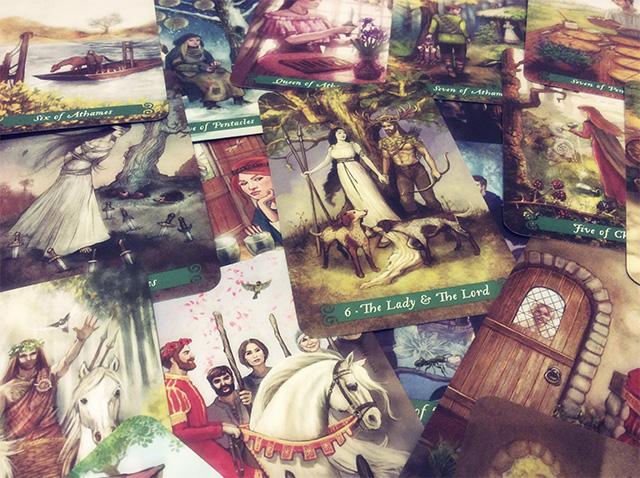 Cảm nhận ý nghĩa 78 lá bài Green Witch Tarot