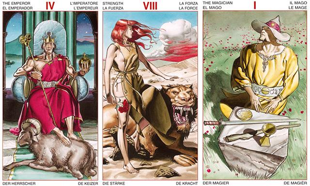 Ý nghĩa bộ bài Initiatory Tarot of the Golden Dawn